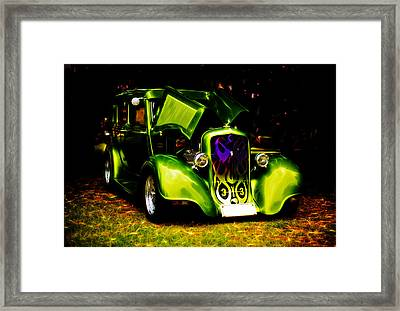 1933 Plymouth Hot Rod Framed Print by Phil 'motography' Clark