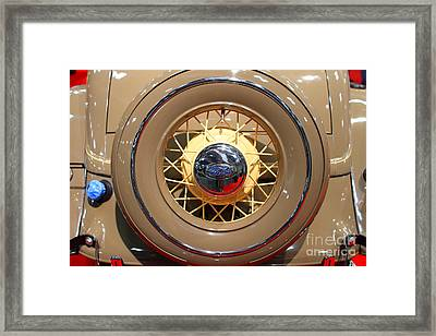 1934 Ford Model 40 Deluxe Cabriolet . 7d9357 Framed Print by Wingsdomain Art and Photography