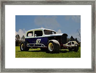 1934 Ford Stock Car Framed Print by Bill Cannon