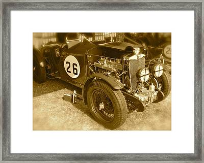 1934 Mg N-type Framed Print by John Colley
