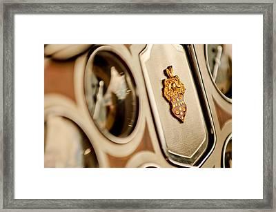 1934 Packard 1104 Super Eight Phaeton Emblem Framed Print by Jill Reger