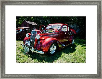 1936 Dodge Framed Print by Paul Barkevich