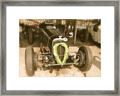 Framed Print featuring the photograph 1936 Era B-type R10b by John Colley