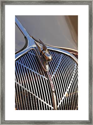 Framed Print featuring the photograph 1936 Hudson Terraplane by Gordon Dean II