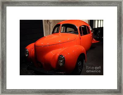 1937 Airomobile . 7d17314 Framed Print by Wingsdomain Art and Photography