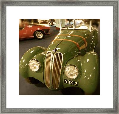 1937 Bmw 328 Framed Print by John Colley