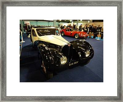 1937 Bugatti Type S7sc Altalante Framed Print by John Colley