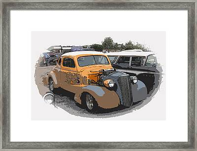 1937 Chevy Coupe Framed Print by Steve McKinzie