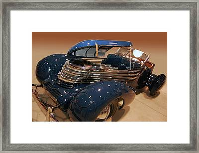 Framed Print featuring the photograph 1937 Kurtis Tommy Lee Special by Bill Dutting