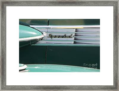 1938 Buick Special . 5d16226 Framed Print by Wingsdomain Art and Photography