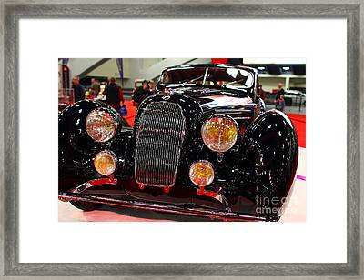 1938 Talbot Lago T150-c Speciale Teardrop Coupe . 7d9311 Framed Print by Wingsdomain Art and Photography