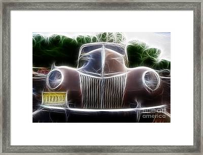 1939 Ford Deluxe Framed Print by Paul Ward