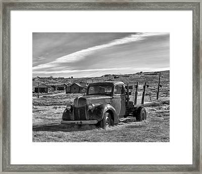1939 Ford Truck Bodie Ca Framed Print by Troy Montemayor