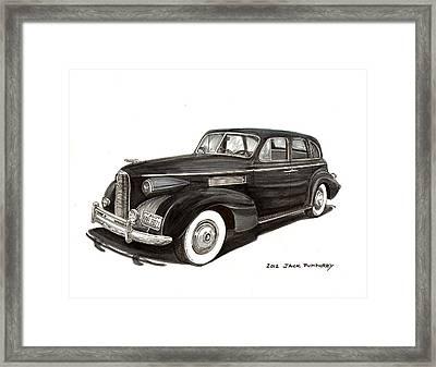 1939 Lasalle Classic Framed Print by Jack Pumphrey