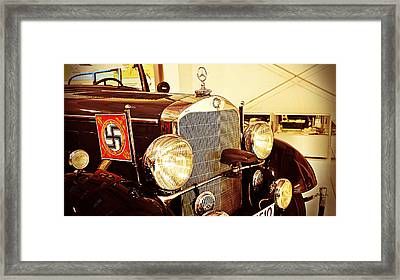 1939 Mercedes Benz Framed Print