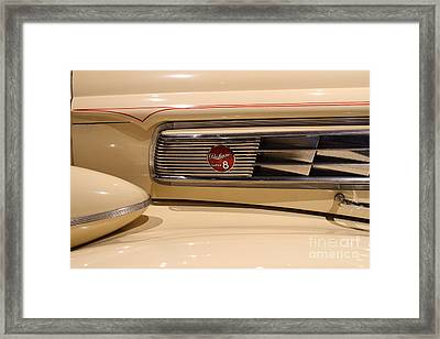1939 Packard Super Eight Phaeton - 7d17406 Framed Print by Wingsdomain Art and Photography