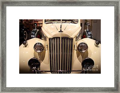 1939 Packard Super Eight Phaeton - 7d17407 Framed Print by Wingsdomain Art and Photography