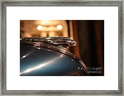 1939 Pontiac Station Wagon - 7d17417 Framed Print by Wingsdomain Art and Photography