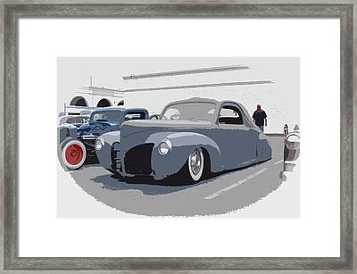 1940 Lincoln Framed Print by Steve McKinzie