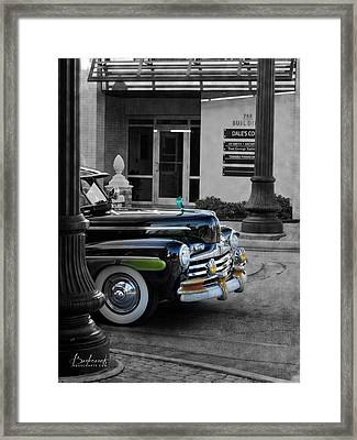 1940s Ford Out Of The Past Framed Print
