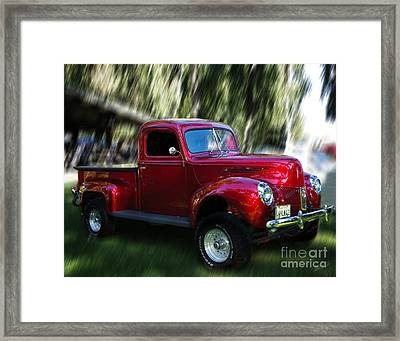1941 Ford Truck Framed Print by Peter Piatt
