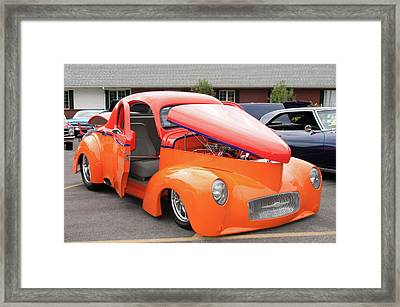 1941 Willys Coupe 7774 Framed Print by Guy Whiteley