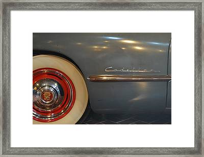 1942 Cadillac - Series 62 Sedanette Fastback Framed Print by Michelle Calkins