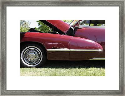 1947 Cadillac . 5d16181 Framed Print by Wingsdomain Art and Photography