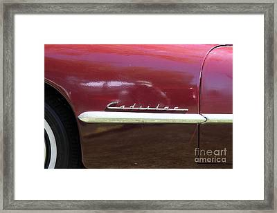 1947 Cadillac . 5d16182 Framed Print by Wingsdomain Art and Photography