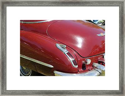 1947 Cadillac . 5d16185 Framed Print by Wingsdomain Art and Photography