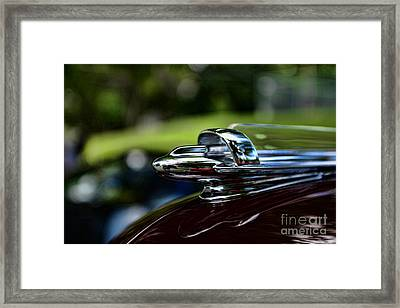 1947 Chevrolet Hood Ornament Framed Print by Paul Ward