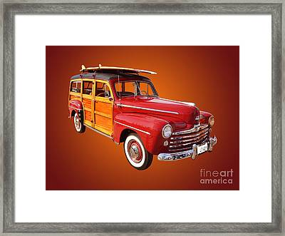 1947 Woody Framed Print