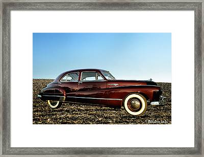 1948 Buick Eight Super Framed Print by Bill Cannon