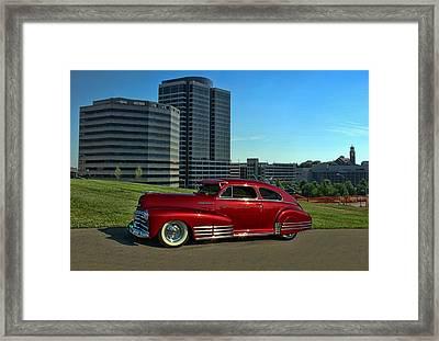 1948 Chevrolet Fleetline Framed Print