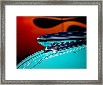 1948 Chevy Hood Ornament Framed Print by Douglas Pittman