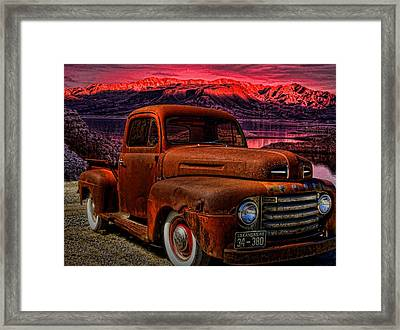 1948 Ford Pickup Truck Framed Print by Tim McCullough