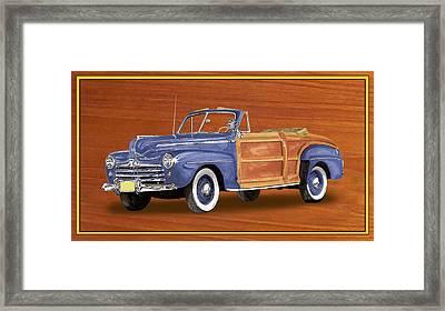 1948 Ford Sportsman Convert. Framed Print by Jack Pumphrey