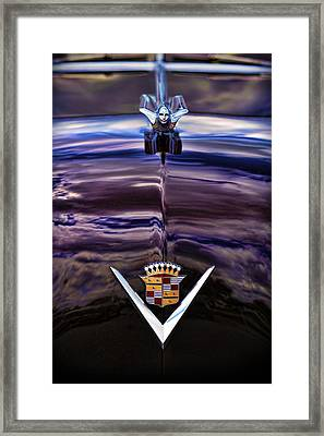 1949 Cadillac Framed Print by Gordon Dean II
