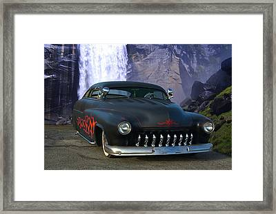 1949 Mercury Low Rider Framed Print by Tim McCullough