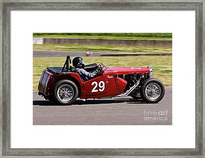 1949 Mg Tc Special Framed Print by John Buxton