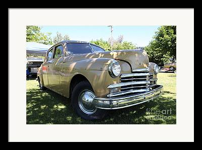 1949 Plymouth Delux Framed Prints
