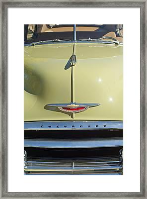 1950 Chevrolet Fleetline Grille 2 Framed Print