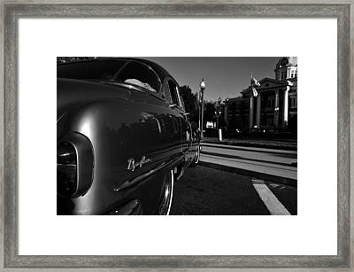 1950 Courthouse Framed Print by David Lee Thompson