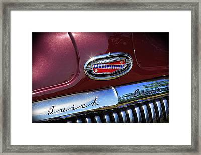 Framed Print featuring the photograph 1951 Buick Eight by Gordon Dean II