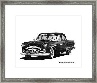 1951 Packard Patrician 400 Framed Print by Jack Pumphrey