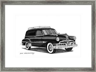 1951 Pontiac Panel Delivery Framed Print by Jack Pumphrey