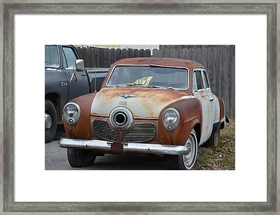 1951 Studebaker Framed Print