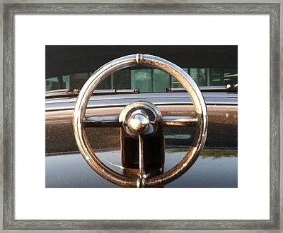 Framed Print featuring the photograph 1952 Buick by Elizabeth Coats