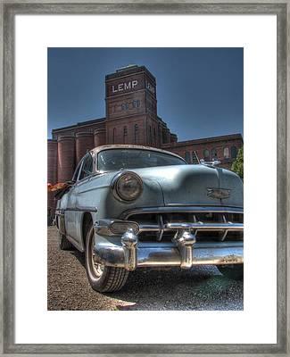 1952 Chevy Bel Air Framed Print