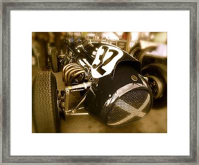 Framed Print featuring the photograph 1952 Cooper Bristol Mk1 by John Colley